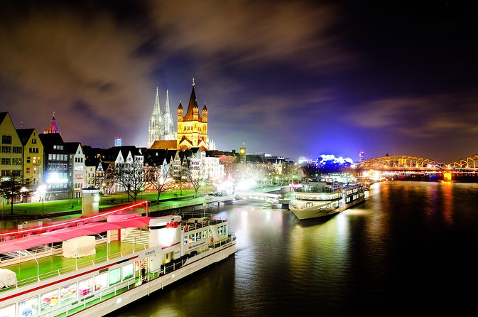 River Cruise in Rhine River, Cologne, Germany