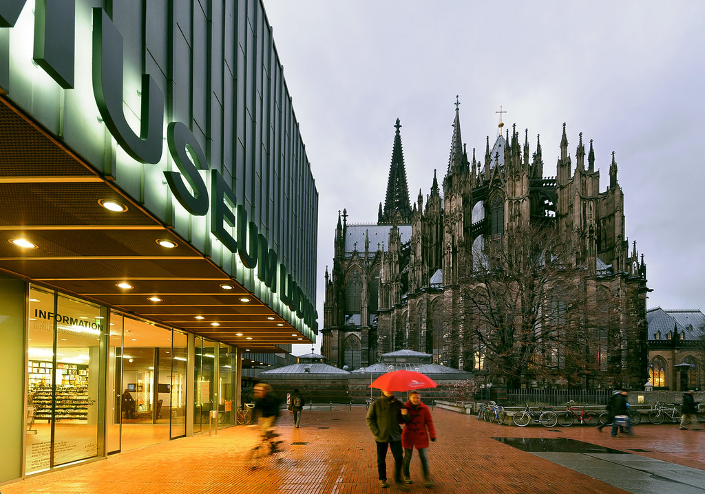 Visiting the Museum Ludwig, Cologne, Germany