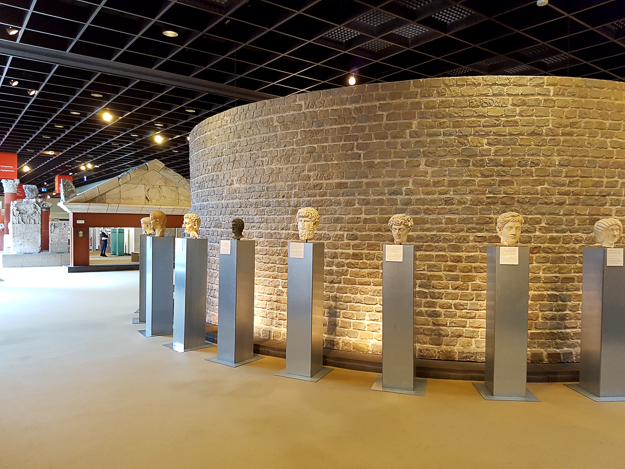 Visiting the Romano-Germanic Museum, Cologne, Germany