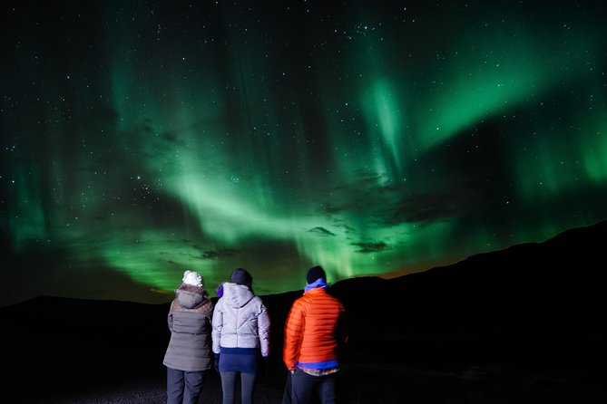 northern lights or Aurora in Iceland.