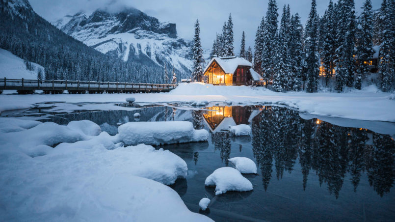 The Most Scenic Winter Train Routes in the World Rocky Mountaineer, Canada