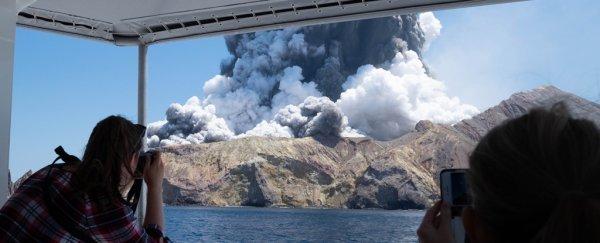 Effects of White Island New Zealand Volcanic Eruption 2019