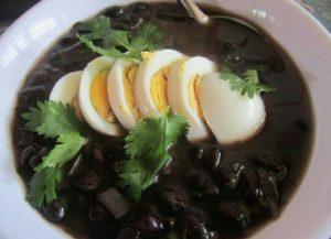 Sopa Negra Best of Costa Rican Foods