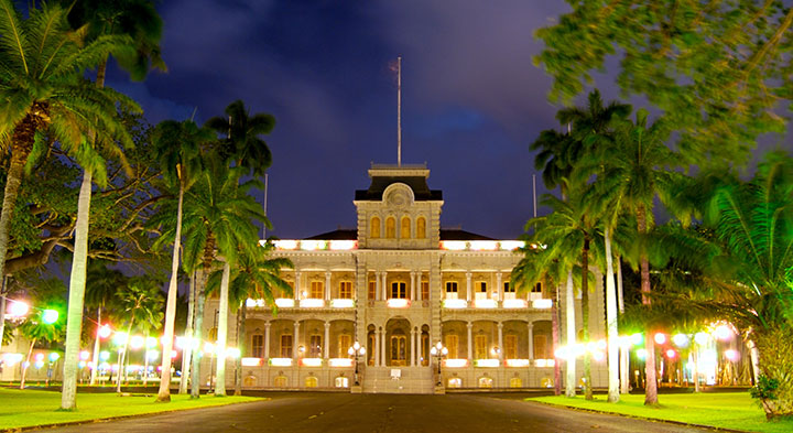Iolani palace honolulu,Oahu, Hawaii