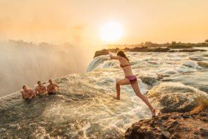 Devils Pool Victoria Falls in Zambia