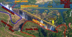 Is Victoria falls in Zimbabwe or Zambia