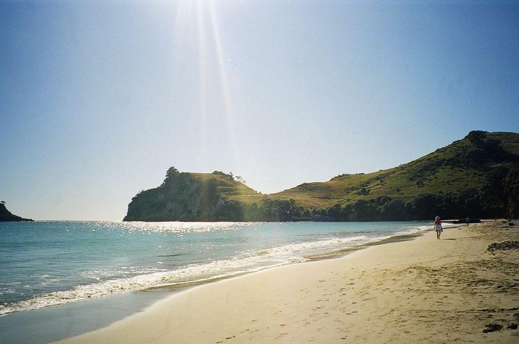 Hahei Beach North Island road trip