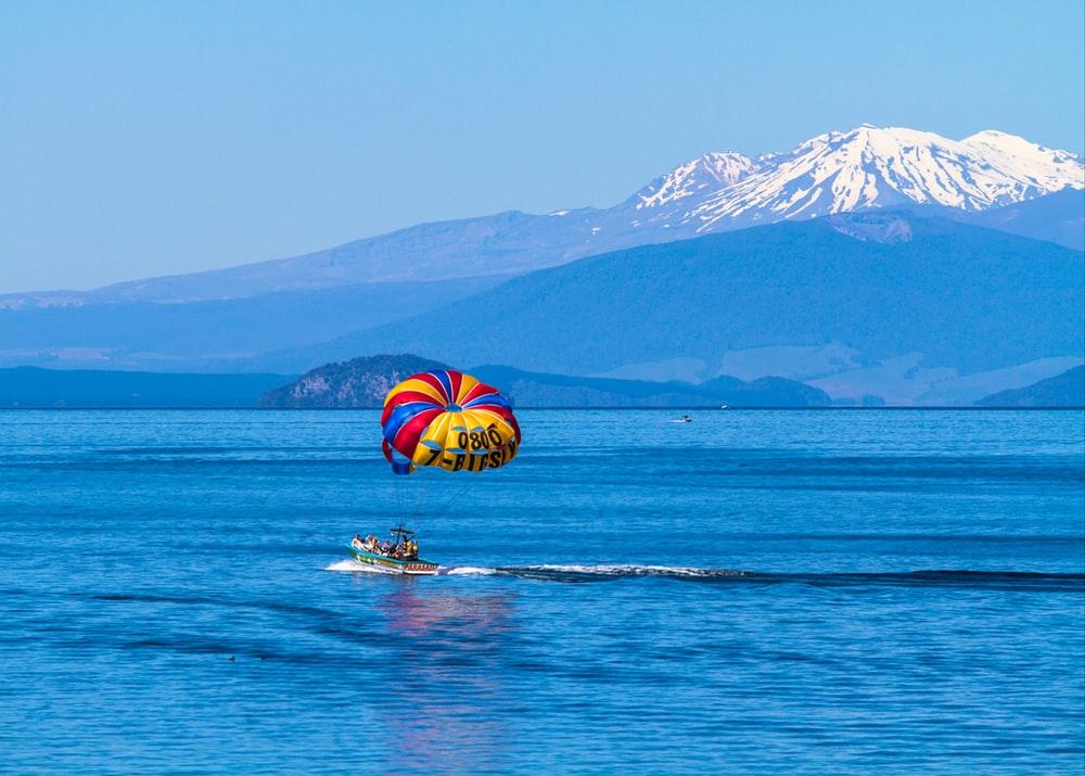 Lake Taupo in North Island NZ