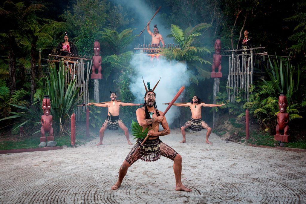 Māori culture in North Island in New Zealand