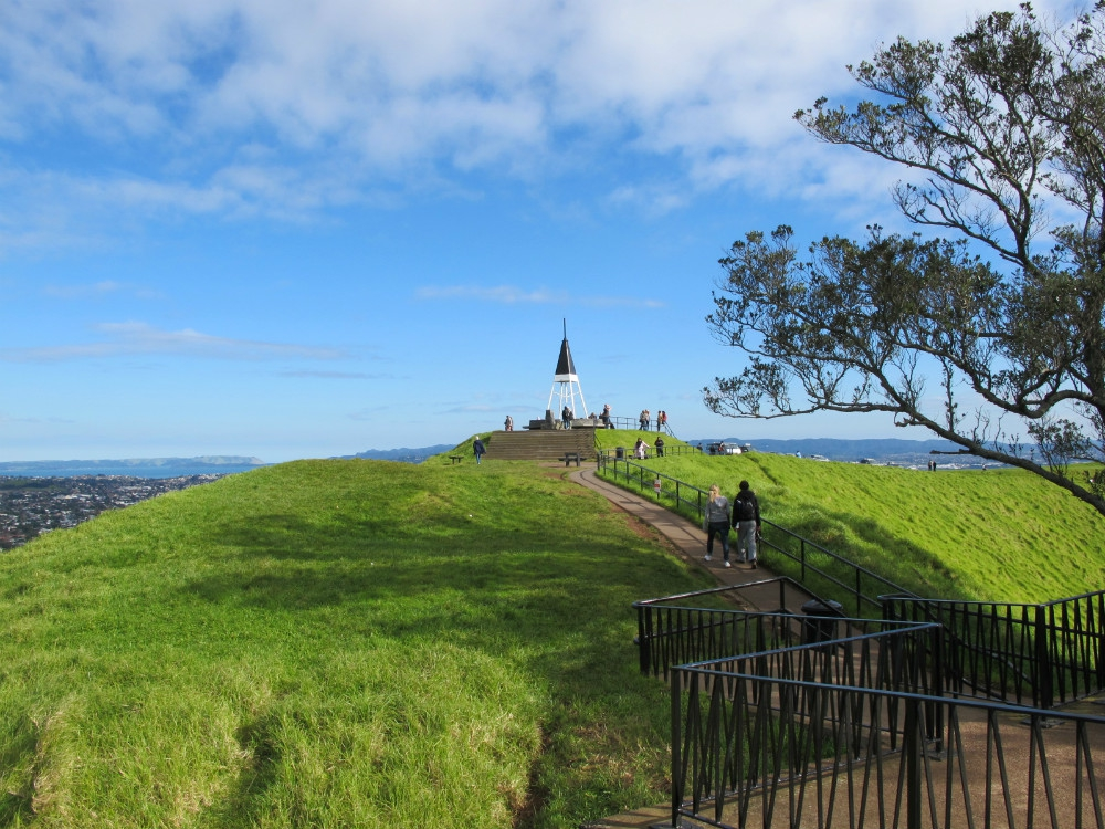 Mount Eden in Auckland NZ
