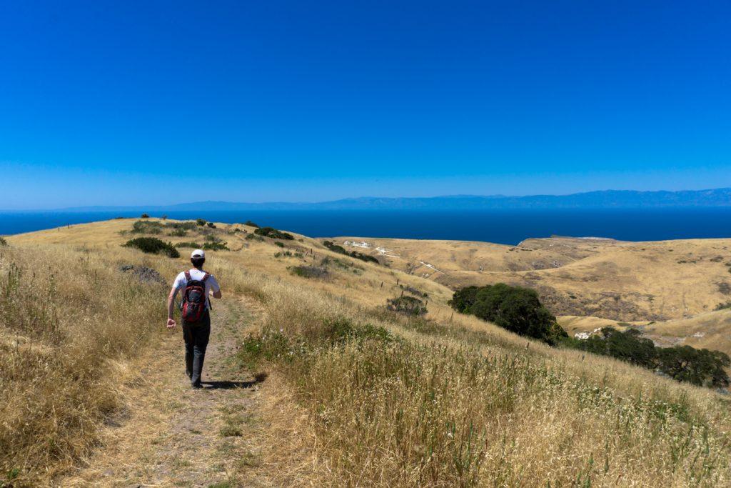 Santa Cruz Island hiking
