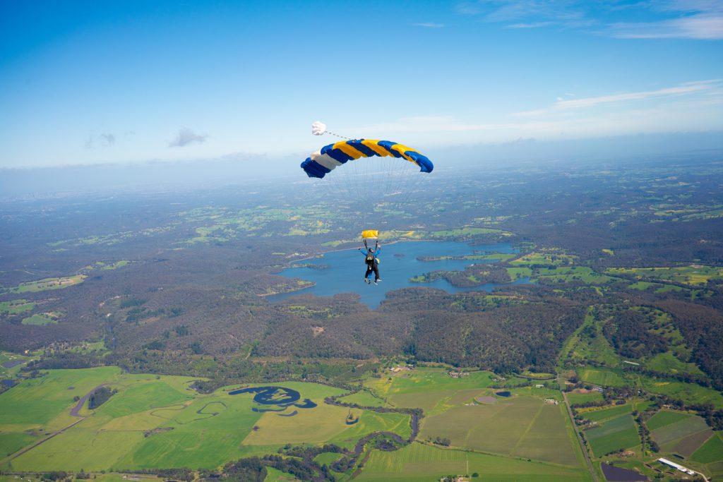 Skydiving in Yarra Valley