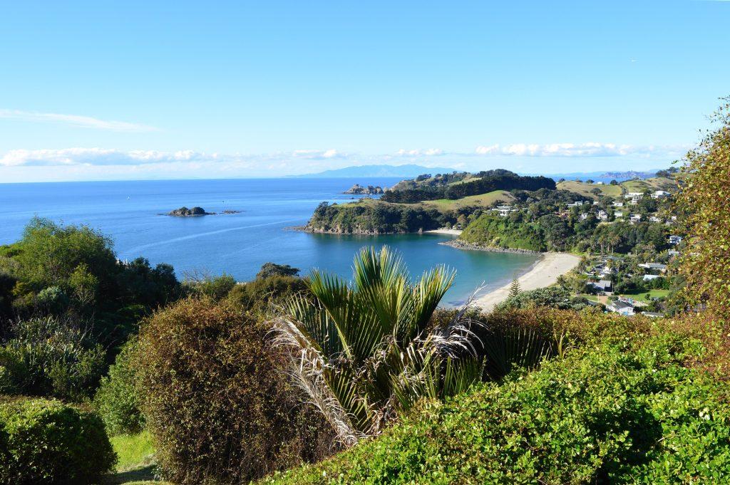Waiheke Island on North Island in New Zealand