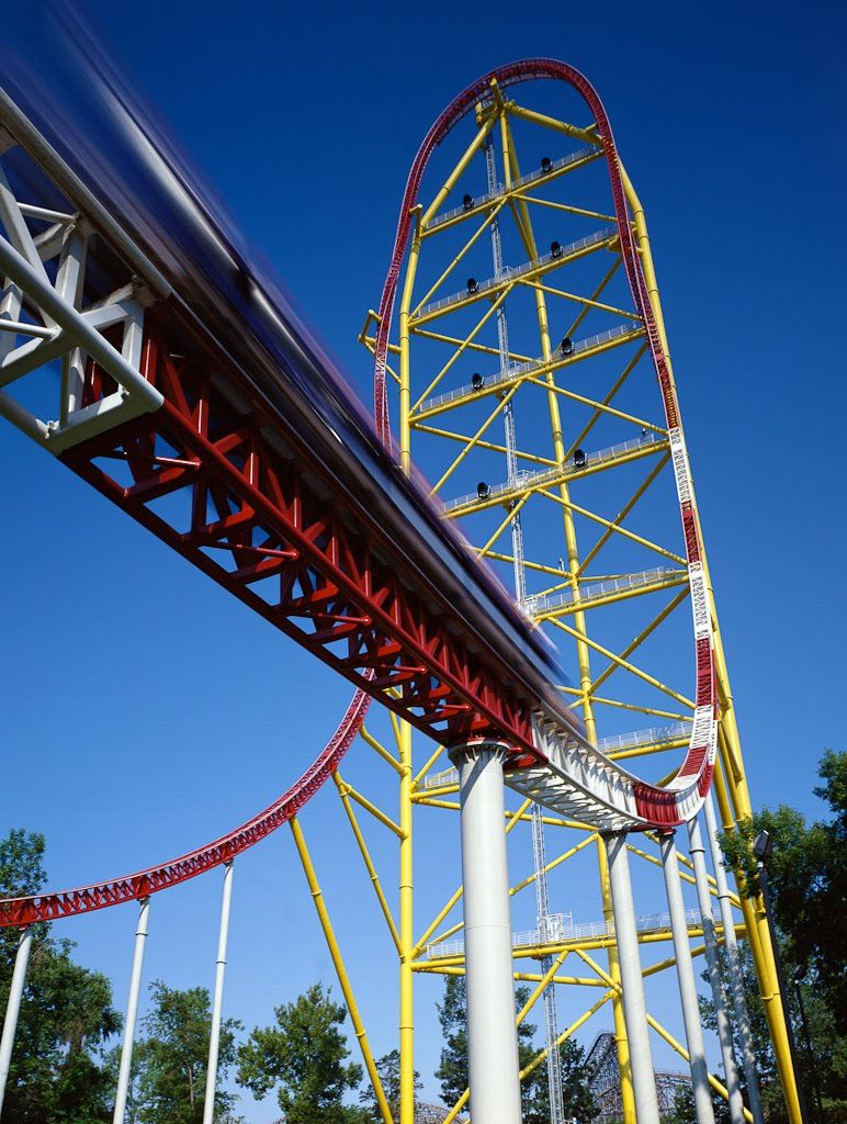Cedar Point tallest roller coaster ride