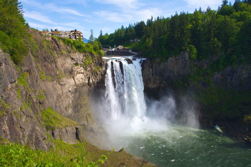 Visit Snoqualmie Waterfalls Seattle Washington