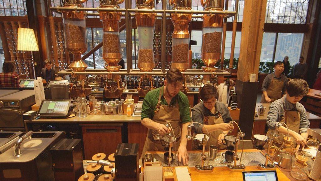 Visit Starbucks Reserve Roastery Seattle