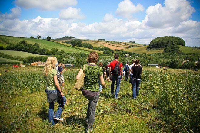 volunteer organic farmer with WWOOF