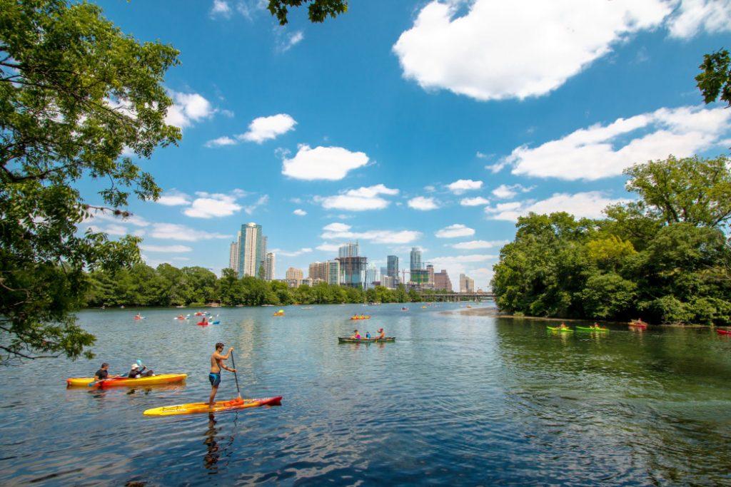 Lady Bird Lake Things to do in Austin