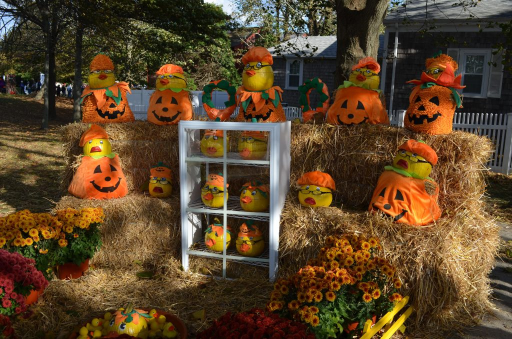 Pumpkin People in the Park, Chatham, Massachusetts