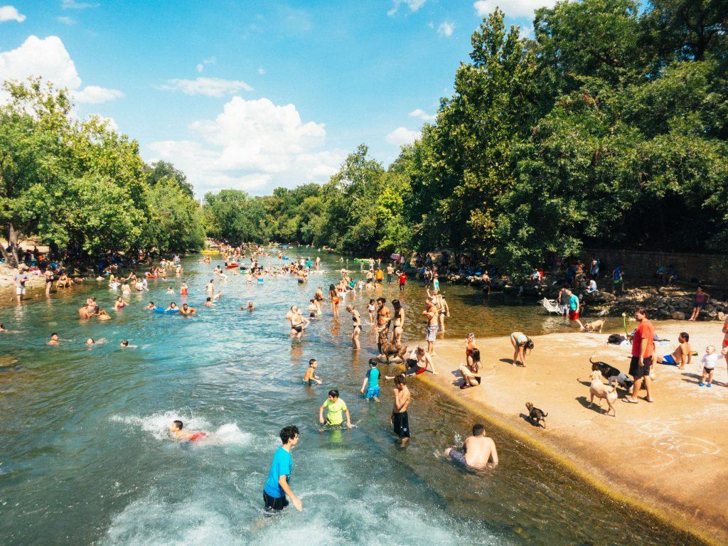 Zilker Park Austin TX