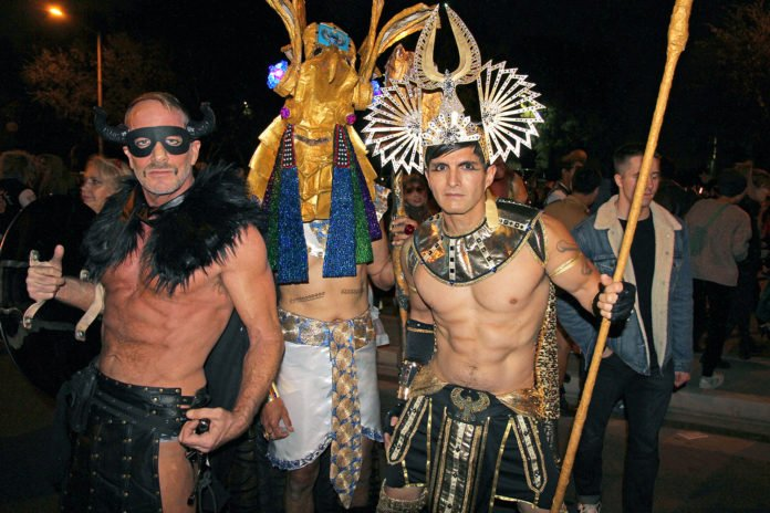 West Hollywood Carnival in California