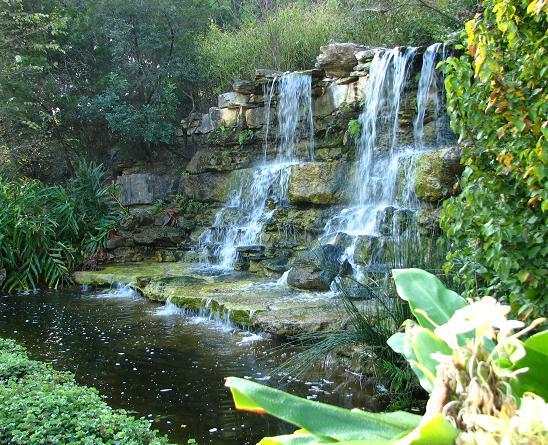 Zilker Botanical Garden in Austin