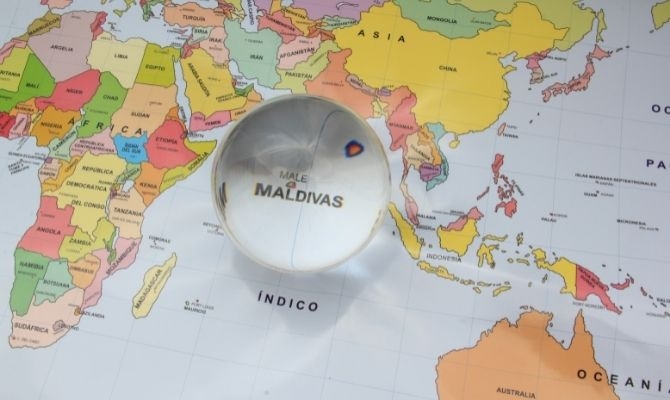 Where is the Maldives