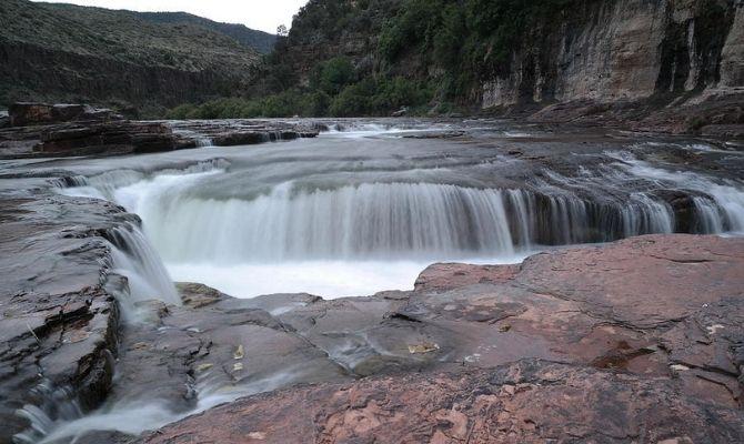 Arizona Waterfalls Apache Falls