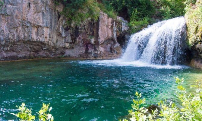 Arizona Waterfalls Fossil Creek Falls