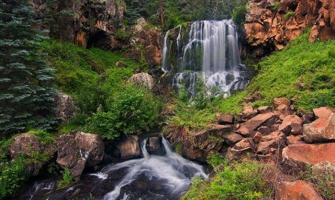 Arizona Waterfalls Pacheta Falls