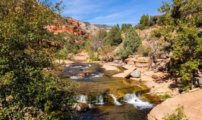 Arizona Waterfalls Slide Rock