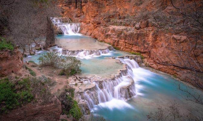 Beaver Falls, Havasupai Indian Reservation
