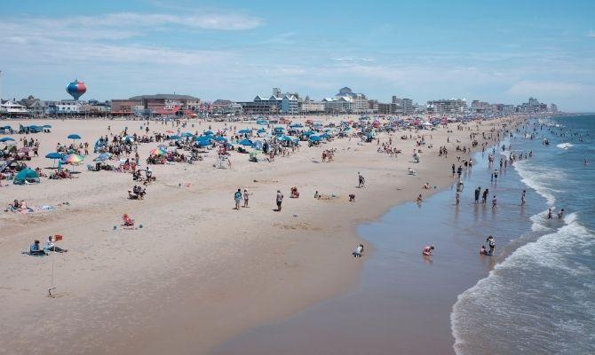 Best Beaches on the East Coast Ocean City, Maryland