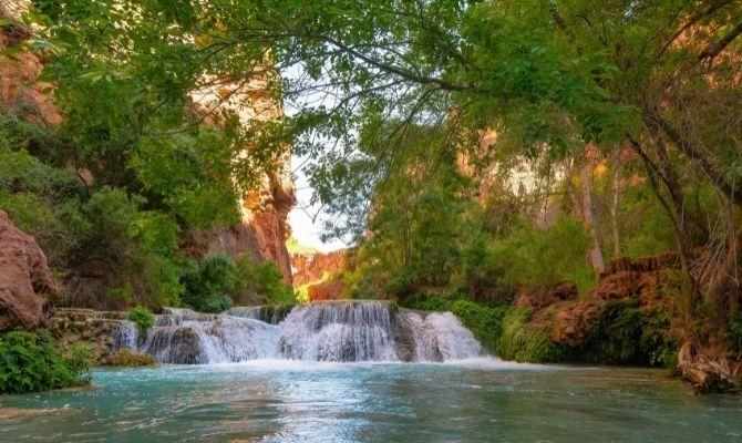 Fifty Foot Falls, Havasupai Reservation