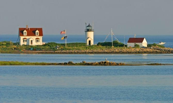 Goat Island Lighthouse, Maine