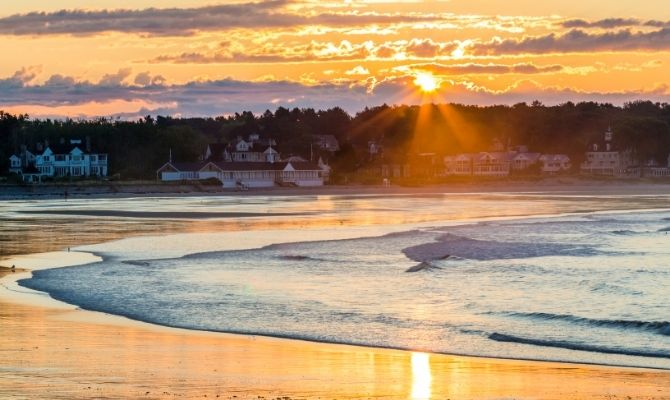Gooch's Beach, Kennebunk, Maine
