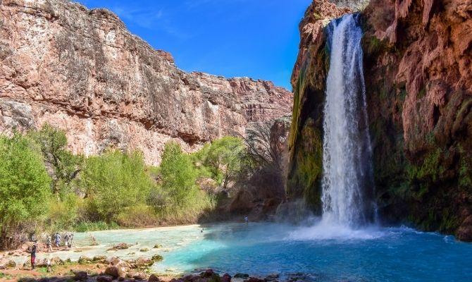 Havasu Falls, Havasupai Reservation