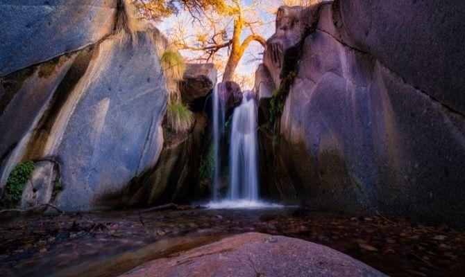 Madera Canyon Waterfall Arizona