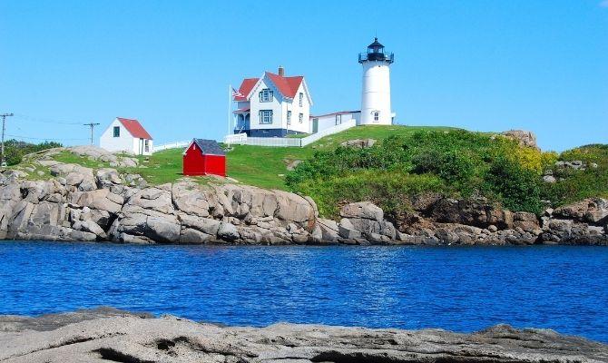 Maine Lighthouses Cape Neddick Lighthouse