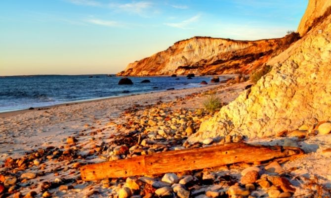 Menemsha Public Beach, Massachusetts
