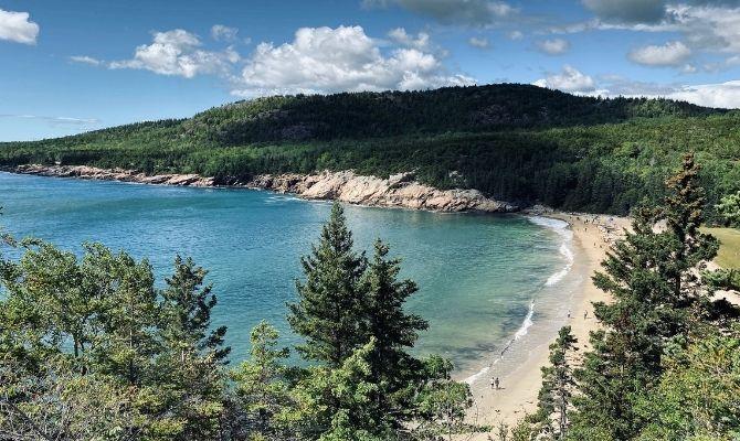 Best Beaches on the East Coast Sand Beach, Bar Harbor, Maine