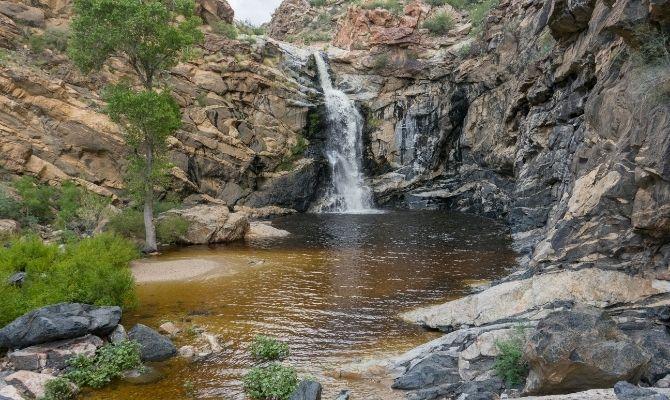 Tanque Verde Falls Arizona