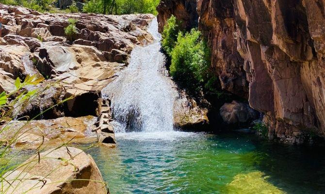 Water Wheel & Ellison Creek Waterfall