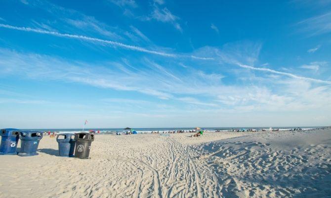 Wildwood Crest Beach, New Jersey