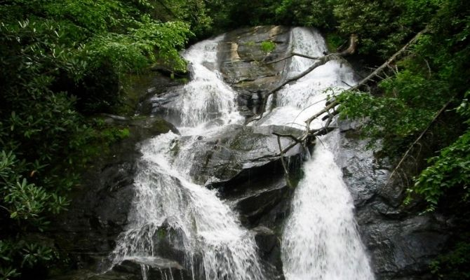 Ammons Creek Falls, Rabun Country