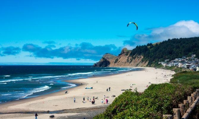Beaches in Oregon Lincoln City Beach, Lincoln City