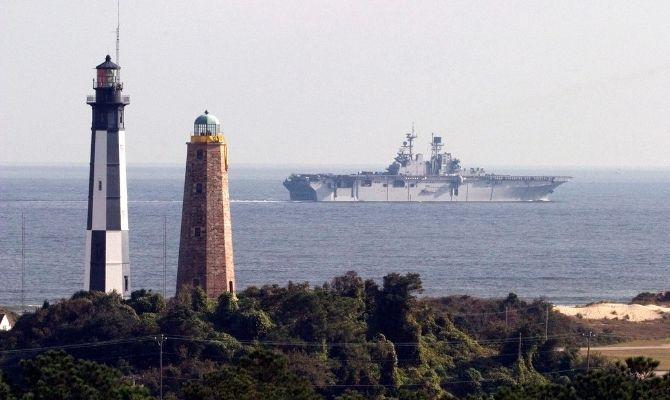 Cape Henry Lighthouse, Fort Story
