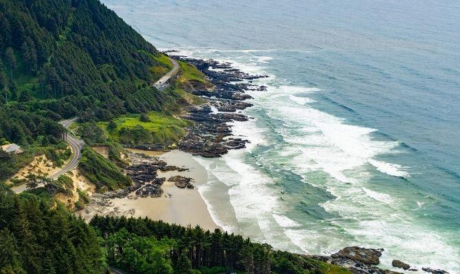 Cape Perpetua Scenic Area, Yachats