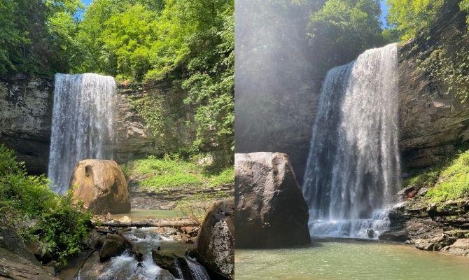 Cherokee Falls, Dade County