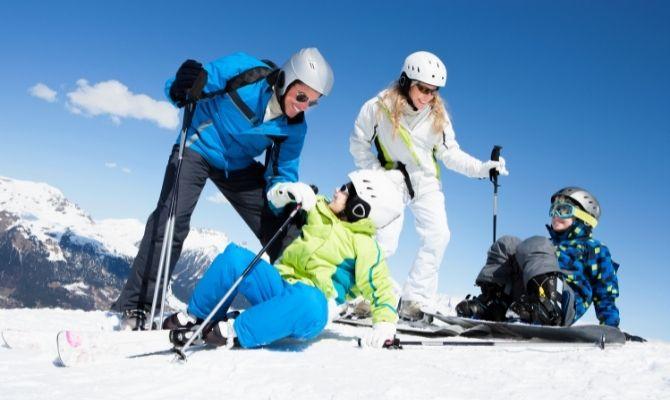 Skiing in Santa Fe, NM